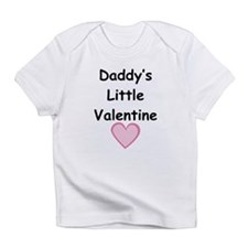 Daddy's Little Valentine Infant T-Shirt