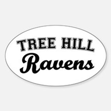 Tree Hill Oval Decal