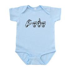 Cara-ASL only Infant Bodysuit