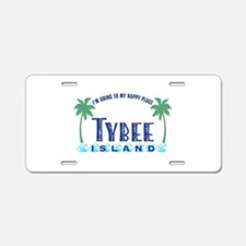 Tybee Happy Place - Aluminum License Plate