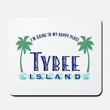 Tybee Happy Place - Mousepad