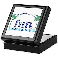 Tybee Happy Place - Keepsake Box