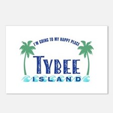 Tybee Happy Place - Postcards (Package of 8)