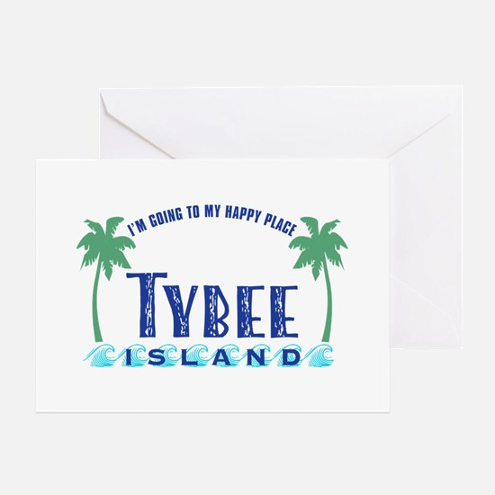 Tybee Happy Place - Greeting Card