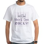 Mikela Q. Chase White T-Shirt