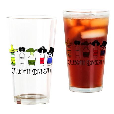 Diversity Pint Glass