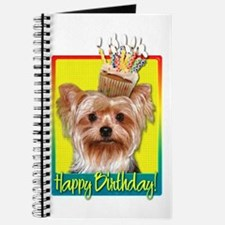 Birthday Cupcake - Yorkie Journal