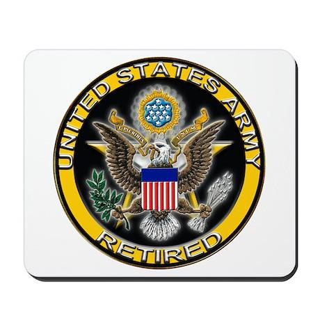 US Army Retired Eagle Mousepad