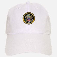 US Army Retired Eagle Baseball Baseball Cap
