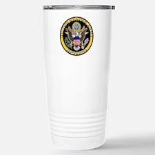 US Army Retired Eagle Travel Mug