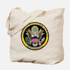 US Army Retired Eagle Tote Bag