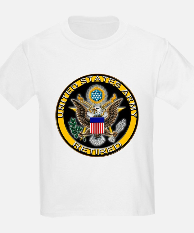 US Army Retired Eagle T-Shirt