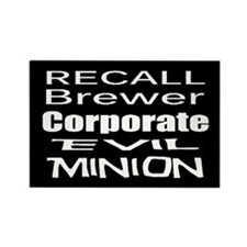 Recall Governor Brewer Rectangle Magnet