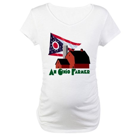 The Ohio Farmer Maternity T-Shirt