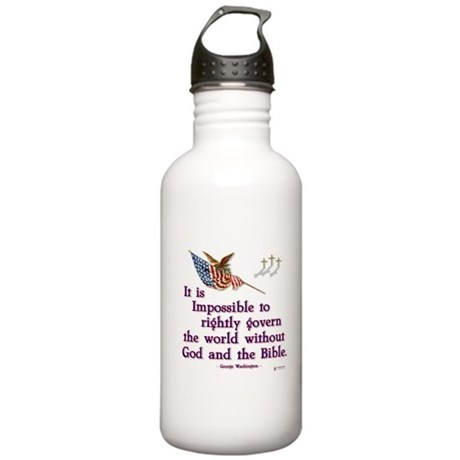 Govern With God Stainless Water Bottle 1.0L