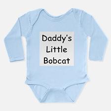 Daddy's Little Bobcat Long Sleeve Infant Bodysuit