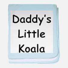 Daddy's Little Koala baby blanket