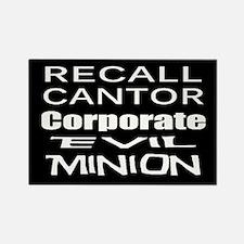 Recall Eric Cantor Rectangle Magnet