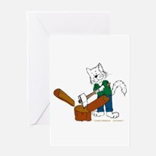 Wood Splitter/Lumber Jack Greeting Card