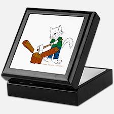 Wood Splitter/Lumber Jack Keepsake Box