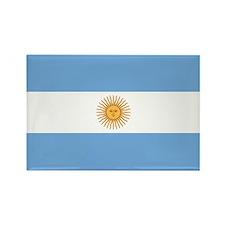 Argentina Flag Rectangle Magnet