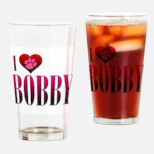 I Heart Bobby Pint Glass