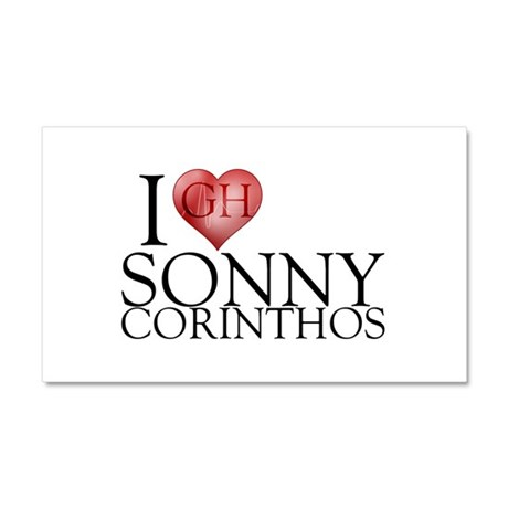 I Heart Sonny Corinthos Car Magnet 12 x 20