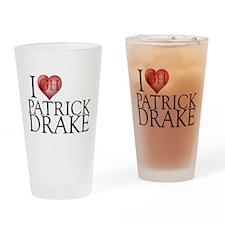 I Heart Patrick Drake Pint Glass