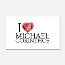 I Heart Michael Corinthos Car Magnet 12 x 20