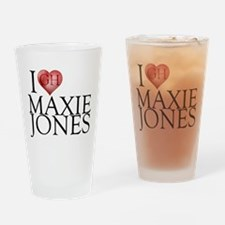 I Heart Maxie Jones Pint Glass