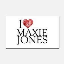 I Heart Maxie Jones Car Magnet 12 x 20