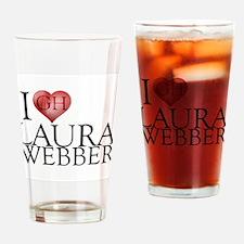 I Heart Laura Webber Pint Glass