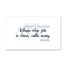 Gibbs' Rules #11 Car Magnet 12 x 20
