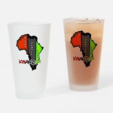 Kwanzaa Africa Pint Glass