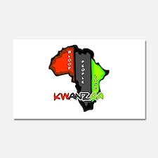 Kwanzaa Africa Car Magnet 12 x 20