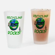 Recycling Rocks! Pint Glass