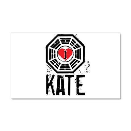 I Heart Kate - LOST Car Magnet 12 x 20