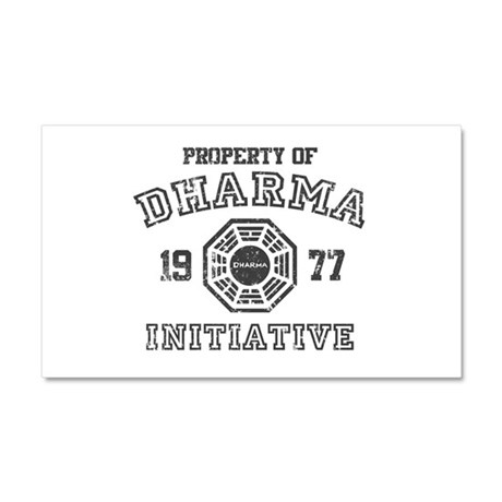 Property of Dharma Distresses Car Magnet 12 x 20
