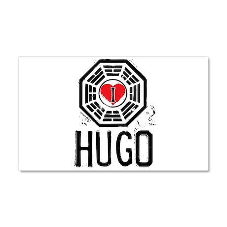 I Heart Hugo - LOST Car Magnet 12 x 20