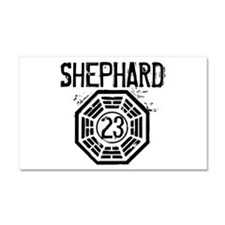 Shephard - 23 - LOST Car Magnet 12 x 20