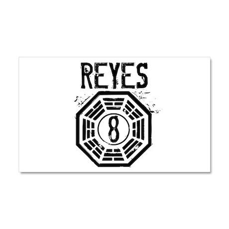 Reyes - 8 - LOST Car Magnet 12 x 20