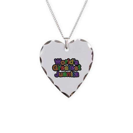 World's Greatest Juanita Heart Necklace