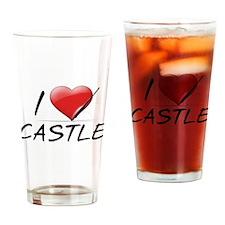 I Heart Castle Pint Glass