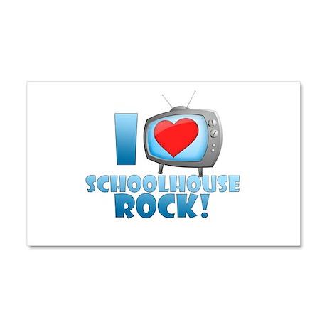 I Heart Schoolhouse Rock Car Magnet 12 x 20
