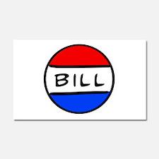 Bill Button Car Magnet 12 x 20