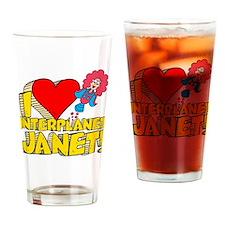 I Heart Interplanet Janet! Pint Glass