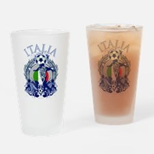 Italia Soccer Pint Glass