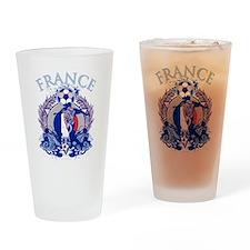 France Soccer Pint Glass