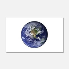Western Earth from Space Car Magnet 12 x 20