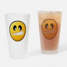Confused Smiley Pint Glass